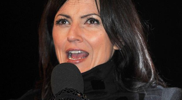 Davina McCall worked with Angie Dowds on ITV's The Biggest Loser
