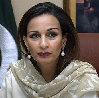 Pakistan's former information minister Sherry Rehman has been appointed new ambassador to the United States (AP)
