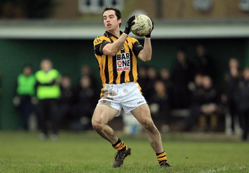 Aaron Kernan is anxious to make up for his dismissal against Ballinderry when he lines out for Crossmaglen against Burren in Sunday's Ulster Club final