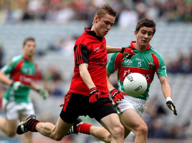 Down's Caolan Mooney has opted to pursue a career in Australian Rules and is one of many players to have emigrated