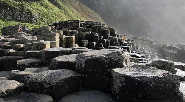 The North Coast Sea Kayak Trail and its new Port Moon Bay shelter will compliment attractions such as the Giant's Causeway in boosting tourism