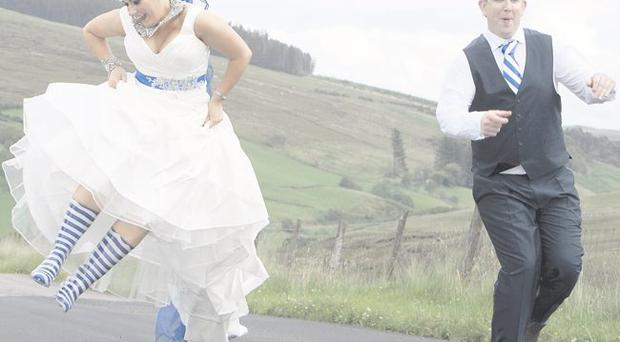 The wedding of Louise McKenna and Mark McElhatton <p><b>To send us your Wedding Pics <a href=
