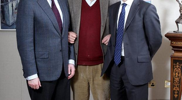Alan Wray, Hector McDonnell and Toby McMurray