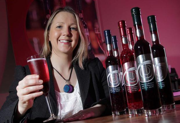 Barbara Hughes, sales director of Boozeberries