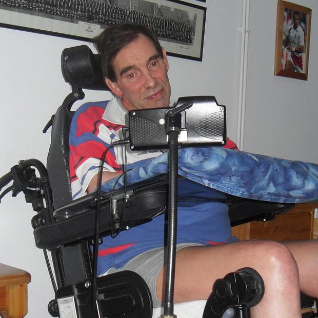 Tony Nicklinson suffered a massive stroke in 2005 which left him paralysed from the neck down and unable to speak