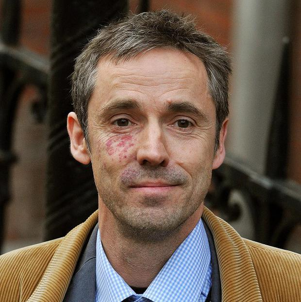 Former News of the World deputy features editor Paul McMullan arrives to give evidence to the Leveson Inquiry
