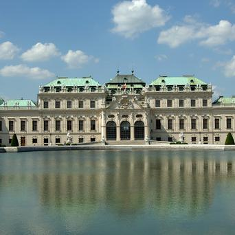 Prince Eugene's summer Palace, the Lower Belvedere in Vienna, reportedly the city with the world's best living standard (AP)