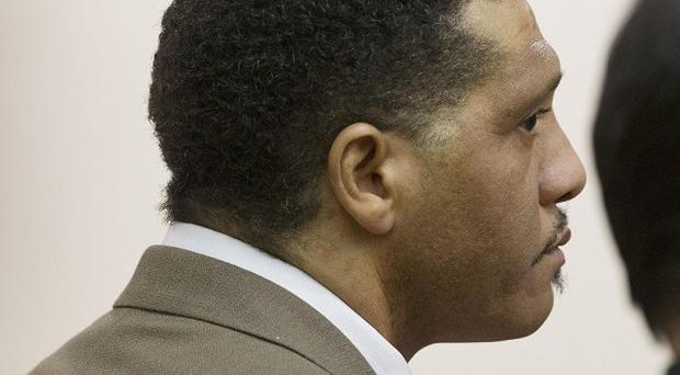 Mark Goudeau is given the death sentence at Maricopa County Superior Court after being convicted of nine murders (AP)