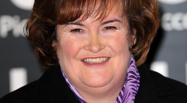 Susan Boyle wants a tent for Christmas