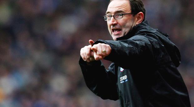 Martin O'Neill has said he would like to return to club management