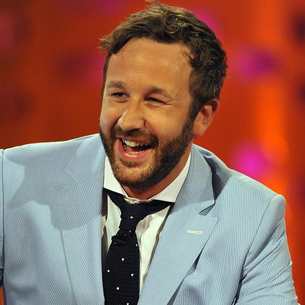 Chris O'Dowd didn't have to sing well for his musical film