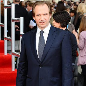 Ralph Fiennes says being a film producer is not really for him