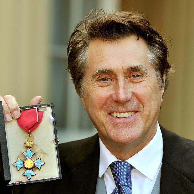 Bryan Ferry has been awarded the CBE