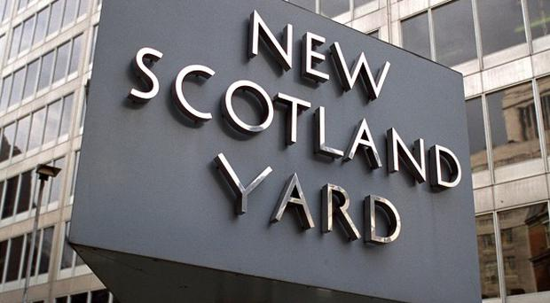 A Scotland Yard officer who sexually assaulted a woman he met on the internet has been fired