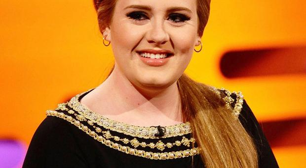 Adele has received six Grammy nominations