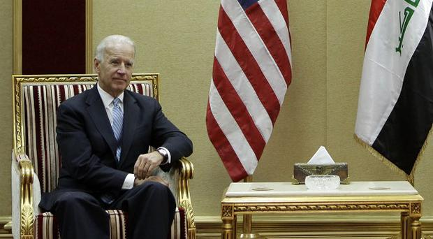 As US vice president Joe Biden, left, meets Iraqi officials ahead of the withdrawal of American troops, two attacks have claimed 17 civilian lives