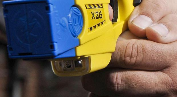 Across England and Wales 40 forces collectively fired Tasers 1,533 times last year