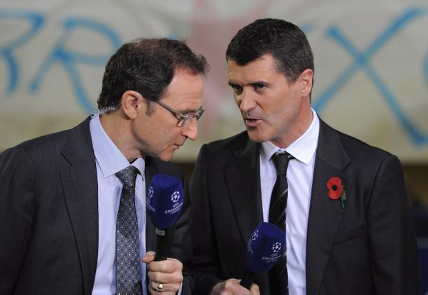 Martin O'Neill and Roy Keane have worked as a double-act as part of ITV's Champions League coverage and may do so again in the Republic of Ireland set-up