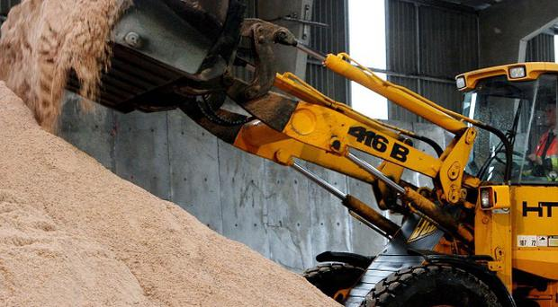 The LGA has said councils across England and Wales have stockpiled more road salt than they used last winter