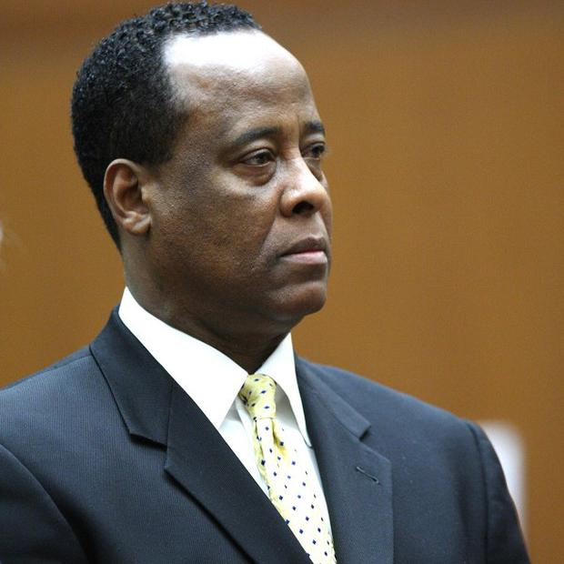 Dr Conrad Murray has filed a notice that he intends to appeal against his conviction for the involuntary manslaughter of Michael Jackson (AP)