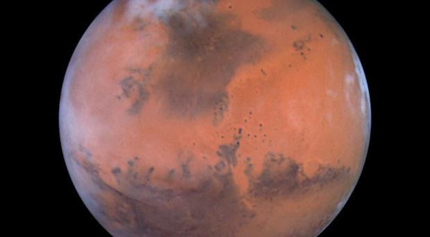 A rogue Russian space probe was expected to land on one of Mars' moons by February 2013