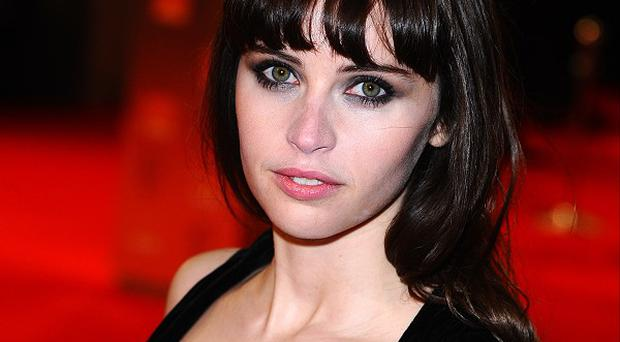 Felicity Jones beat stiff competition to win the role