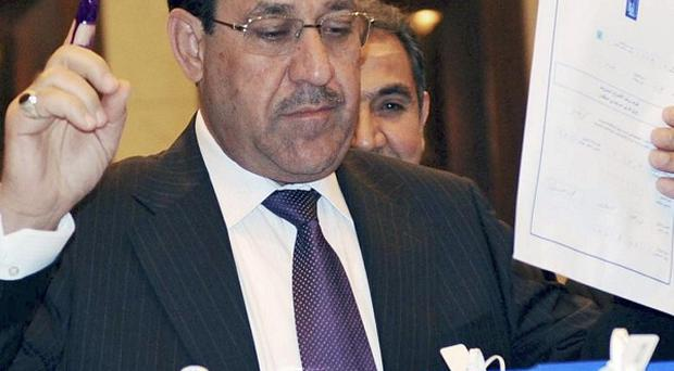 Iraqi Prime Minister Nouri Maliki says a bombing in the Green Zone earlier this week was an assassination attempt against him (AP)