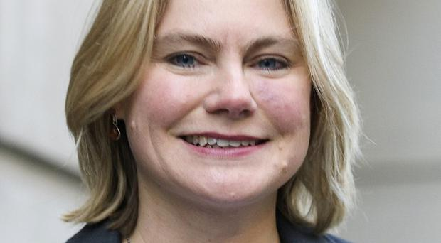 Transport Secretary Justine Greening had been expected to make a final announcement on the HS2 rail line before parliament's Christmas break