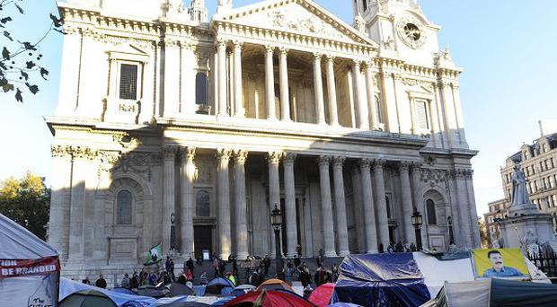 Protesters from the camp outside St Paul's Cathedral are to meet the head of the Financial Services Authority