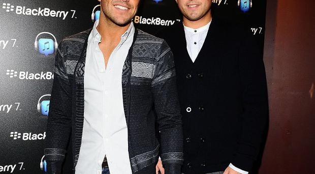 Mark Wright and James Argent from The Only Way Is Essex