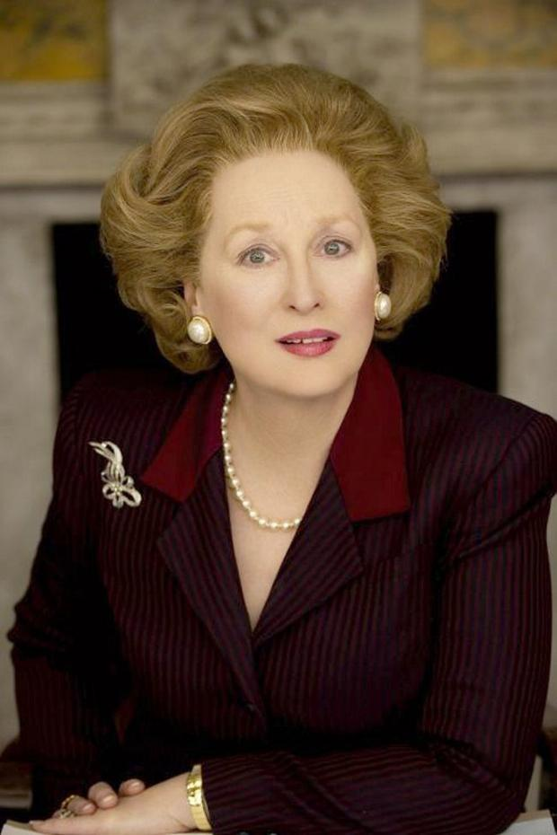 Cast-iron lady: Meryl Streep in the role of Margaret Thatcher