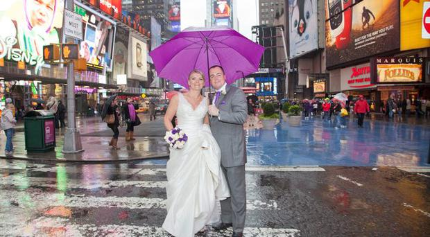 Emma and Owen Kinghan got married in New York City on Thursday 27th October 2011 <p><b>To send us your Wedding Pics <a href=