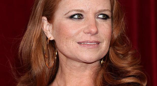 Patsy Palmer returns to her role in EastEnders this month