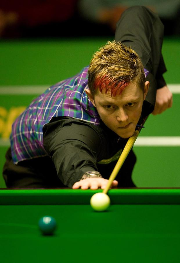 Mark Allen launched a blistering attack on World Snooker Chairman Barry Hearn yesterday