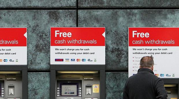Cull: A total of 330 UK bank jobs will be lost