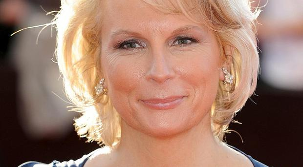 Jennifer Saunders was diagnosed with breast cancer last year