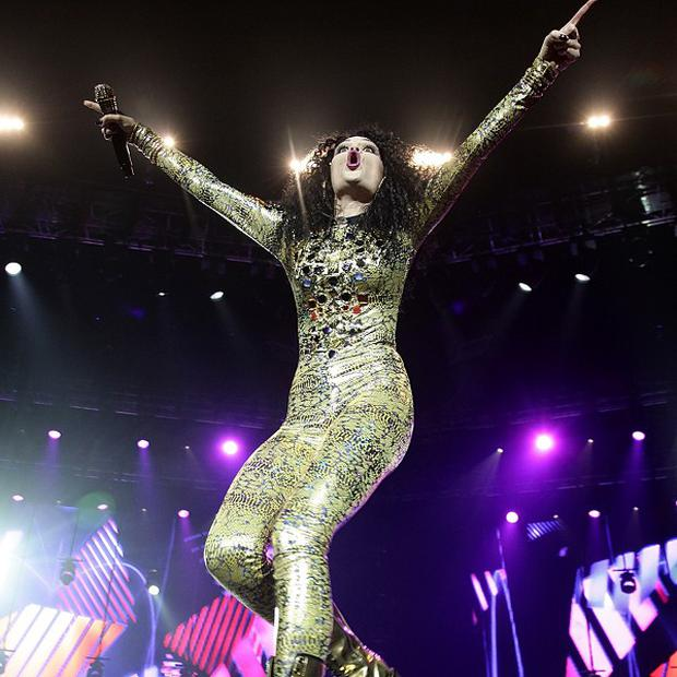 Jessie J performed six songs during her set