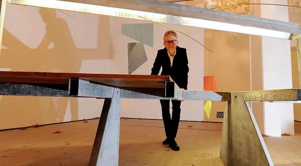 A man has been arrested accused of streaking as Martin Boyce won the Turner Prize