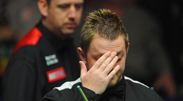 Mark Allen could be in trouble with snooker bosses