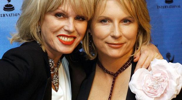 Jennifer Saunders and Joanna Lumley may star in a movie version of Absolutely Fabulous