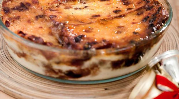 Barmbrack and butter pudding