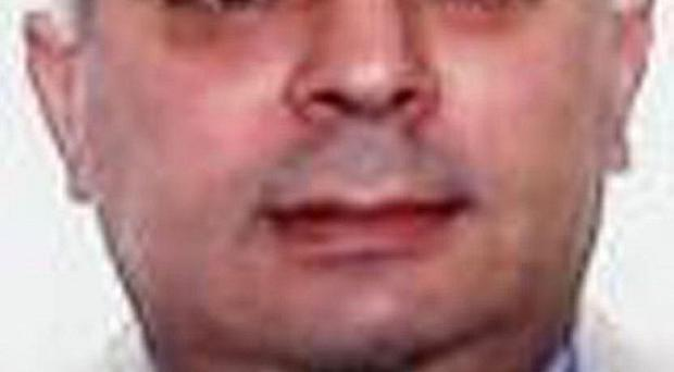 Former Albanian intelligence chief Ilir Nazmi Kumbaro is on the run after failing to appear at a Westminster extradition hearing (Met Police)