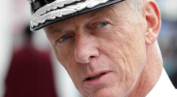 Metropolitan Police Commissioner Bernard Hogan-Howe says he is open to the idea of water cannons