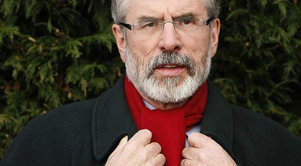 Gerry Adams branded Public Expenditure Minister Brendan Howlin and Finance Minister Michael Noonan 'Scrooge and Scrooger'