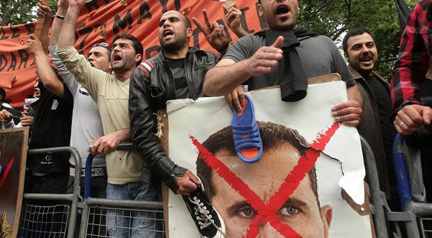 Protests against president Assad continue but he claims he did not order toops to kill civilians