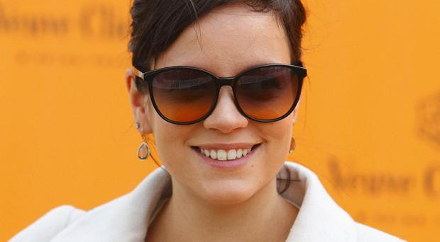Lily Allen sent fans a message thanking them for their support