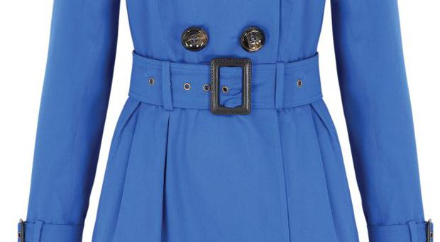 Belted trench coat, £59, very.co.uk