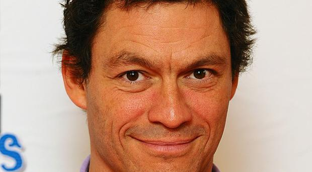Dominic West became famous for his role in The Wire