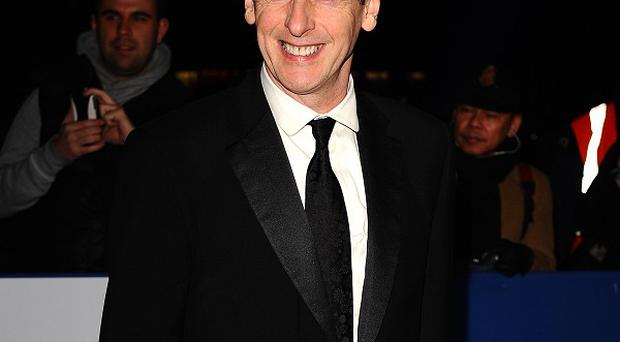 Peter Capaldi has lost half a stone since the play began