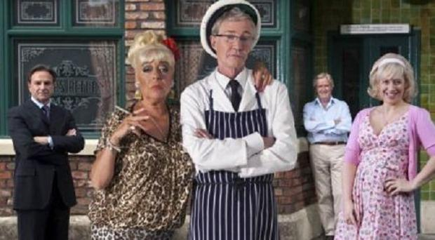 Julie Goodyear and Paul O'Grady are among the stars of the Corrie musical
